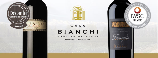 Casa Bianchi Decanter and IWSC