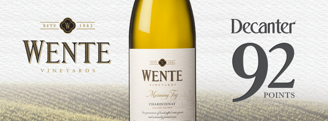 Wente Morning Fog Decanter